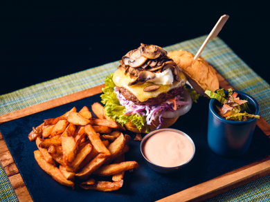 Buy one, get one free on burgers at Abu Dhabi's Victor's