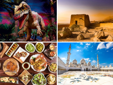 Your ultimate guide to the UAE's very best sights and attractions