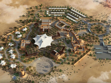 A luxurious desert retreat kitted out for glamping is opening in Sharjah
