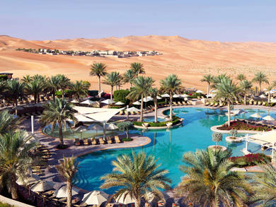 A guide to desert hotels in Abu Dhabi and Al Ain