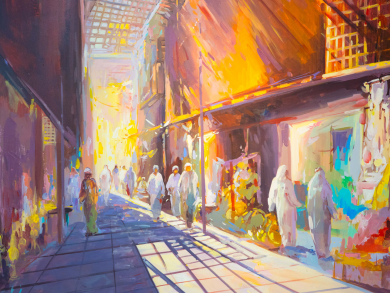 New Abu Dhabi exhibition celebrates the history of the city's souks