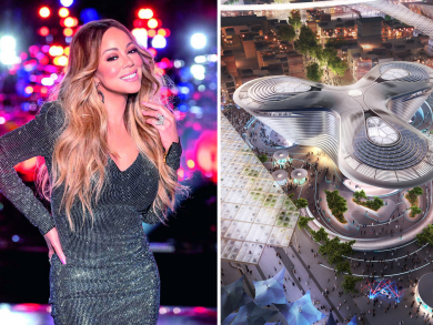"""Mariah Carey and Hussain Al Jassmi to perform free Expo 2020 """"1 Year to Go"""" concert"""