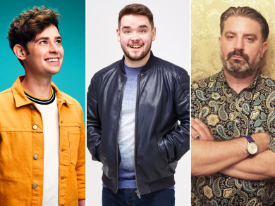 Three brilliant comedians are coming to the UAE with the Laughter Factory in November