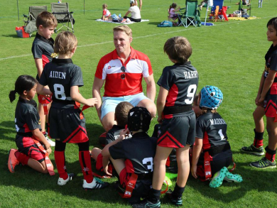 Is rugby a safe sport for kids to play in the UAE?