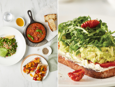 Carluccio's has launched a new vegan menu in the UAE