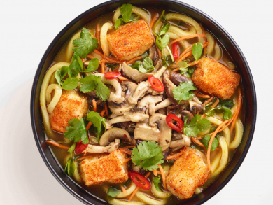 Wagamama launches a vegan and vegetarian menu in the UAE