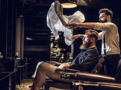 Where to find the best barbershops for men in Abu Dhabi