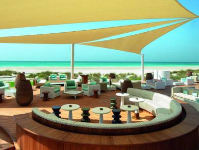 Three of the best beach bars in Abu Dhabi