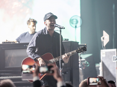 In pictures: OneRepublic live at Dubai Airshow Gala Dinner