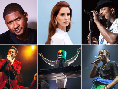 Here are all the huge concerts on Yas Island over F1 weekend