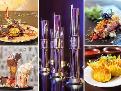 Here all of the very best restaurants in Abu Dhabi