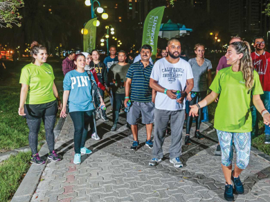 Join a new walking group in Abu Dhabi