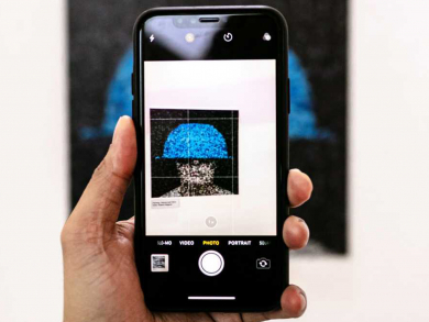 Check out this cool augmented reality art exhibition in Abu Dhabi