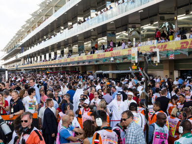 All parking for Abu Dhabi Grand Prix to be at Yas Mall this weekend