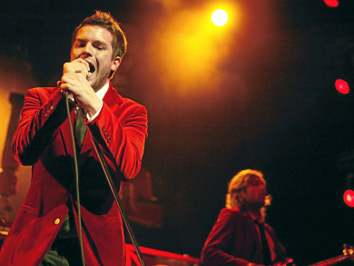 What songs will The Killers play at the Abu Dhabi Grand Prix?