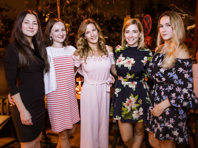 In pictures: Filini Garden partygoers at the Abu Dhabi Grand Prix
