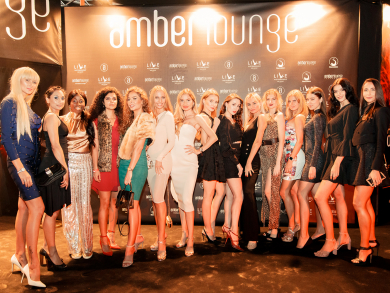 The Amber Lounge red carpet at Abu Dhabi Grand Prix 2019