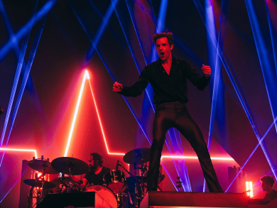 Review: The Killers at Abu Dhabi Grand Prix 2019