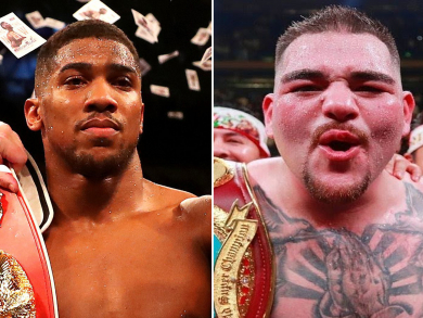 Where to watch Joshua v Ruiz in Abu Dhabi