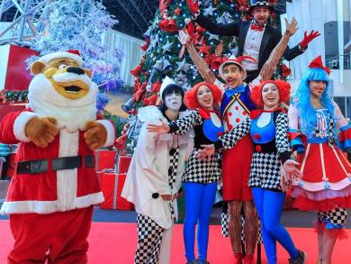 Christmas in Abu Dhabi 2019: Winterfest at Ferrari World