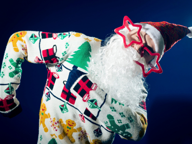 Christmas in Abu Dhabi 2019: Marco's Christmas jumper party