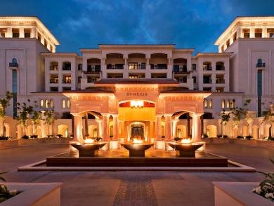 Eight days of offers to celebrate The St. Regis Saadiyat Island Resort, Abu Dhabi's birthday