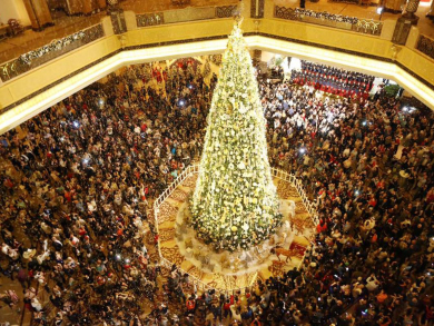 Christmas in Abu Dhabi 2019: Four Christmas tree lightings this week