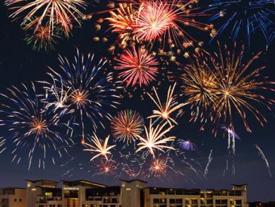 Enjoy a New Year's Eve Gala Dinner and Fireworks at Westin Abu Dhabi
