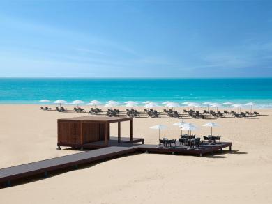 You can join in a beach clean-up day at Abu Dhabi's Saadiyat Rotana Resort & Villas