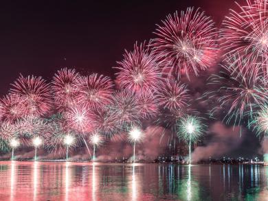Enjoy a special New Year's Eve celebration at Beach Rotana