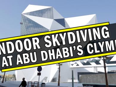 See inside CLYMB Abu Dhabi on Yas Island