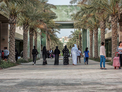 Best places to go walking in Abu Dhabi