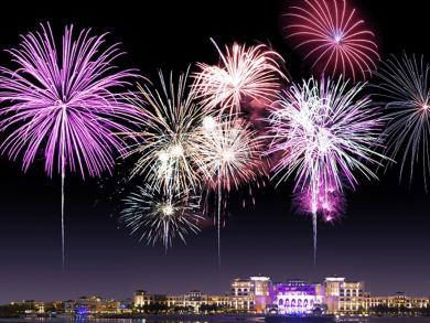 The Shangri-La Hotel Abu Dhabi has a Hollywood-themed New Year's celebration