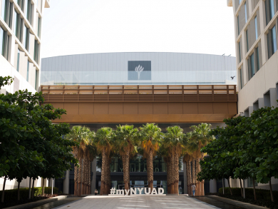 You can now study for a Masters degree at NYU Abu Dhabi