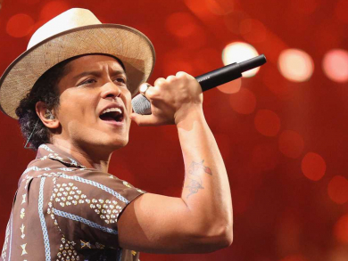 Tickets for Bruno Mars' New Year's Eve concert are Dhs300 when you buy four