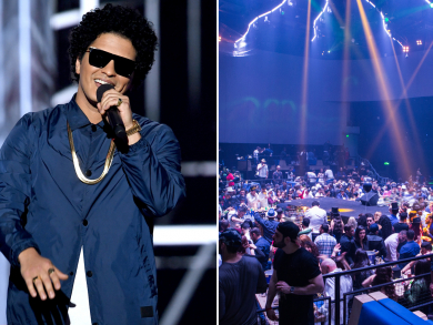 Bruno Mars to host New Year's Eve at MAD in Abu Dhabi