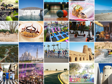 100 amazing things to do in Abu Dhabi for Dhs100 or less