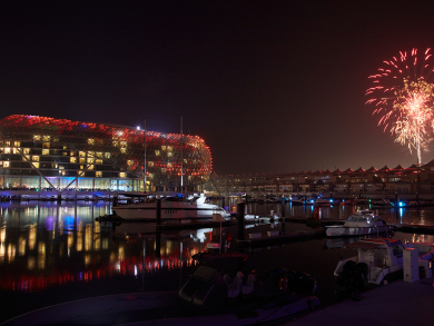 In pictures: New Year's Eve fireworks at Abu Dhabi's Yas Island
