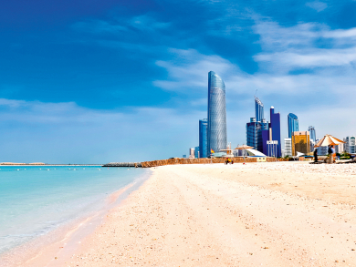 Five places to exercise outdoors in Abu Dhabi