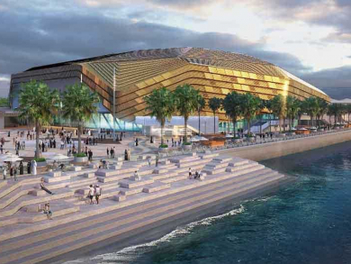 Abu Dhabi's new mega venue officially named The Etihad Arena