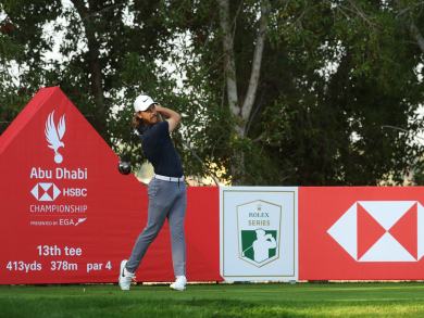 Everything you need to know about HSBC Abu Dhabi Golf Championship