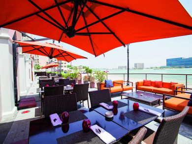 Three of the best outdoor terraces to try in Abu Dhabi