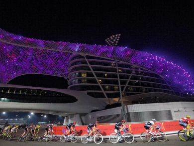 How to get involved with cycling challenges during the UAE Tour