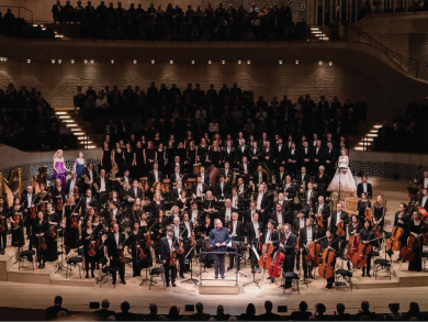 You can hear one of the most popular pieces of music of all time Abu Dhabi Classics