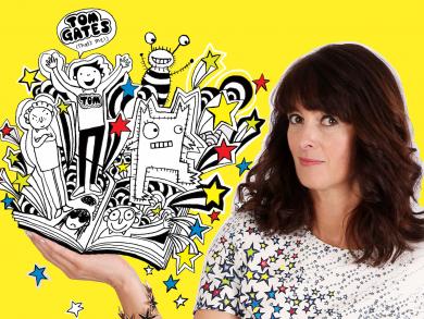 Children's author and illustrator Liz Pichon on bringing Tom Gates Live to the UAE