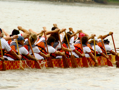 The Dragon Boat Festival is coming back to Abu Dhabi in March