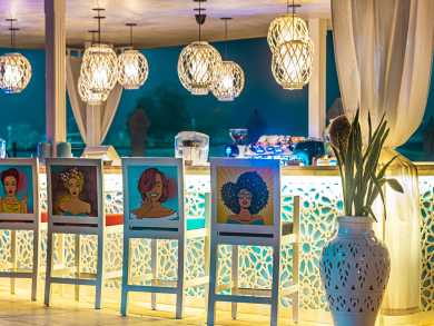 Abu Dhabi's B-Lounge is throwing a glitzy white party