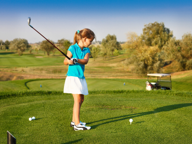 Four places where kids can learn to play golf in the UAE