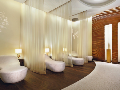 You can get a free spa treatment with a friend at Saray Spa in Abu Dhabi