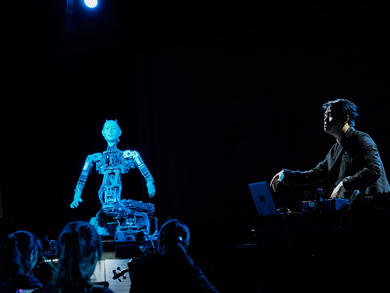 Opera performance featuring robot conducting human orchestra coming to Sharjah